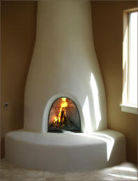 Orno Kiva Fireplace Kit