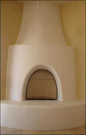 Santa Fe Kiva Fireplace Kit