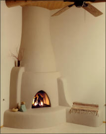 Navajo Kiva Fireplace Kit
