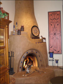 Zuni Kiva Fireplace Kit